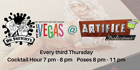 Dr. Sketchy's Las Vegas @ The Artifice Apr 16, 2020 tickets