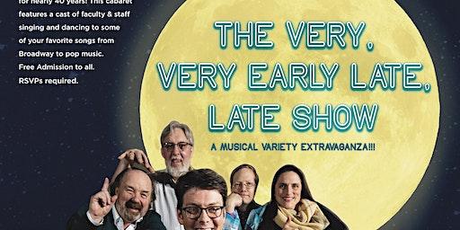 The Staffulty Cabaret (Friday Night)
