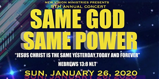 Same God, Same Power