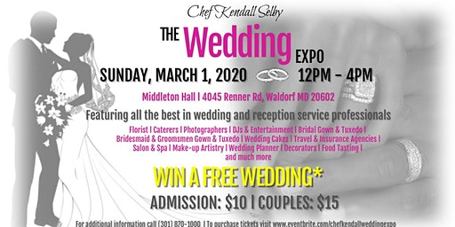 Chef Kendall Selby's The Wedding Expo
