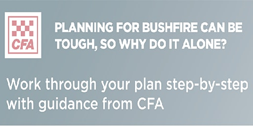 Warburton CFA Seasonal Update and Bushfire Planning Workshop