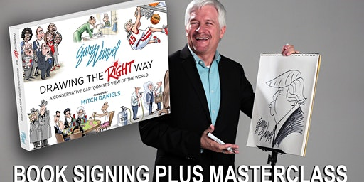 Book Signing Plus Live Masterclass - Caricatures