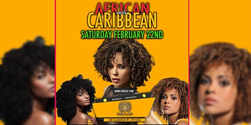 AFRICAN MEET'S CARIBBEAN PARTY SATURDAY FEB. 22ND 2020
