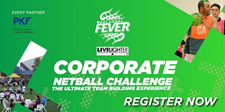 2020  West Coast Fever Corporate Netball Challenge tickets