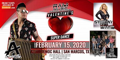 AJ Castillo | Stefani Montiel | Broken Arrow ft. Art Tigerina - February 15, 2020 in San Marcos, TX billets