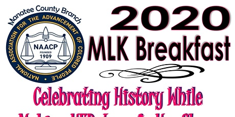 Manatee NAACP 2020 MLK Breakfast tickets