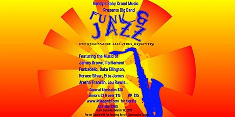 Big Band Jazz meets Soul and Funk tickets