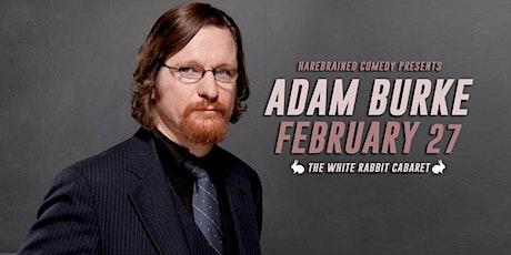 Comedian Adam Burke at The White Rabbit Cabaret tickets