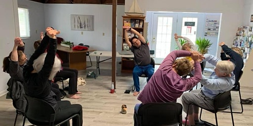 ~ AM Chair Yoga Thursdays at The Ocean Pines Chamber Of Commerce with Imad Elali.