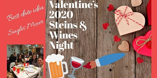 Valentines Day Wines & Steins Pottery Painting Night