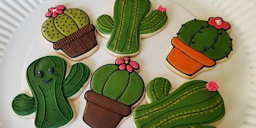 Cactus Cookie Decorating Class