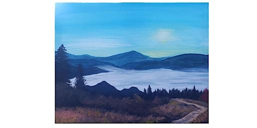 """Create It"" Paint Night - Valley Fog"