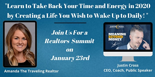 Learn to Take Back Your Time and Energy in 2020 at the Realtors Summit