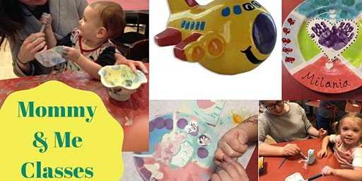 Mommy'n'Me Pottery Painting & Crafts Classes