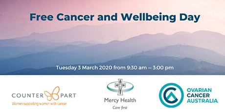 A Free Living with Cancer and Wellbeing Day tickets