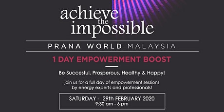Achieve The Impossible! tickets