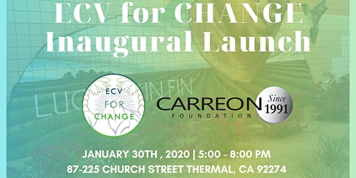 ECV for CHANGE Inaugural Launch!