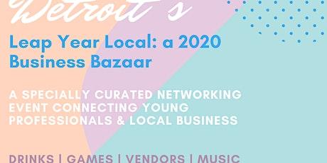 Built In Detroit Networking Soiree & Business Bazaar tickets