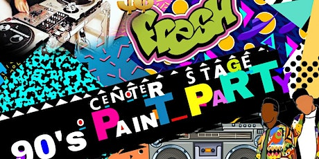 Sat Night Paint and Sip (I Love the 90's-2000's)| Pearland tickets