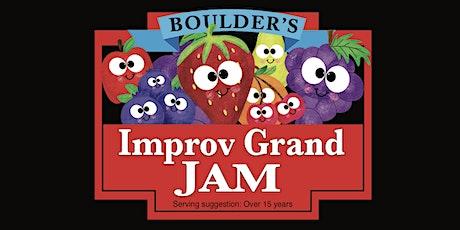 IMPROV GRAND JAM tickets