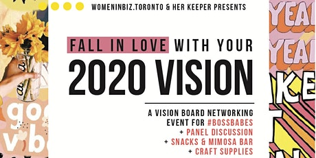Fall In Love With Your 2020 Vision: Network, Craft, and Sip tickets