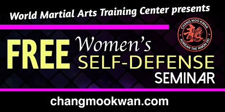 Free Women's Self Defense Seminar tickets