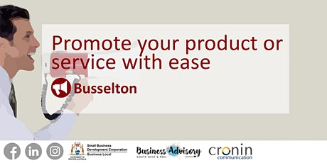 Promote your product or service with ease tickets