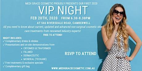 Medi Grace Cosmetic VIP Night tickets