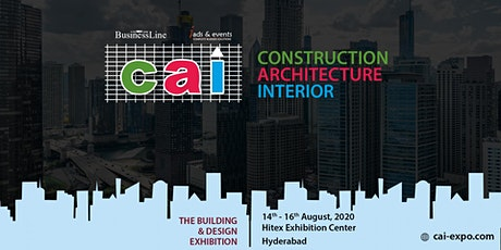 Construction Architecture Interior Expo 2020 Hyderabad tickets