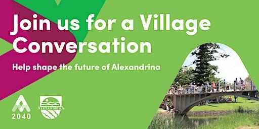 Village Conversation: Strathalbyn