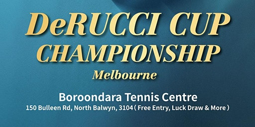 The DeRUCCI CUP TENNIS CHAMPIONSHIP