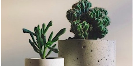 Concrete Crafts: Making a Planter with Maria tickets
