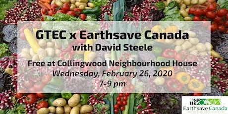 GTEC x Earthsave Canada tickets