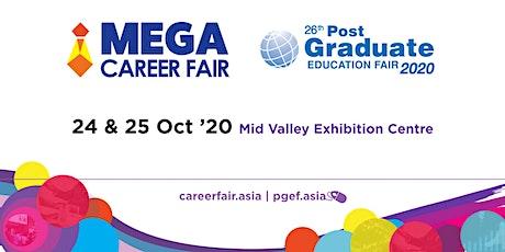 Mega Career Fair & Post-Graduate Education Fair 2020 - MVEC KL tickets
