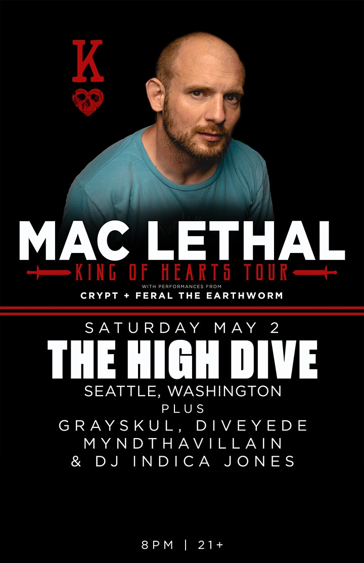 Rescheduled: MAC LETHAL with Grayskul, and special guests image