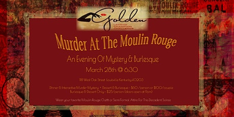 MURDER AT THE MOULIN ROUGE tickets