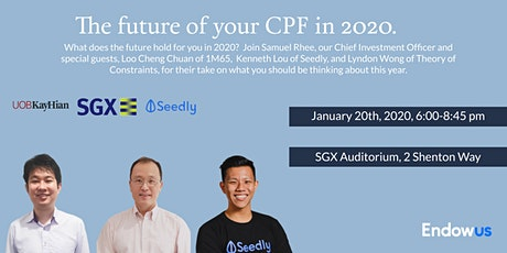 The Future of Your CPF in 2020 tickets