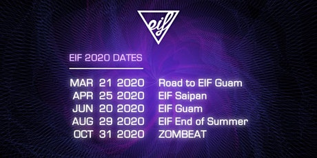 EIF End of Summer 2020 tickets