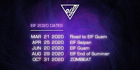 EIF End of Summer 2020 tickets