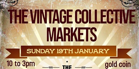 The Vintage Collective Markets tickets