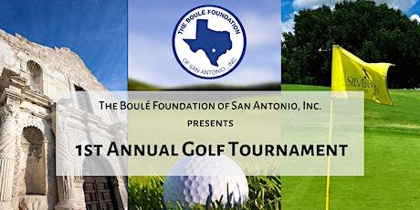 The Boulé Foundation of San Antonio , 1st Annual Golf Tournament  tickets