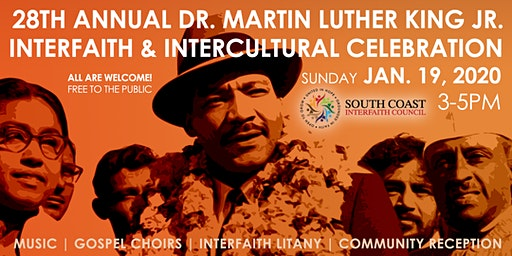 28th Annual DR MARTIN LUTHER KING JR Interfaith & Intercultural Celebration