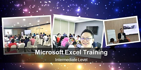 Microsoft Excel Training -Intermediate Level tickets