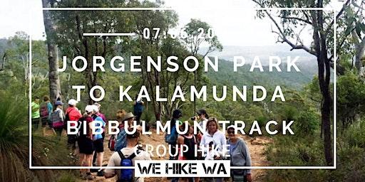 Jorgenson Park To Kalamunda (Bibbulmun Track)