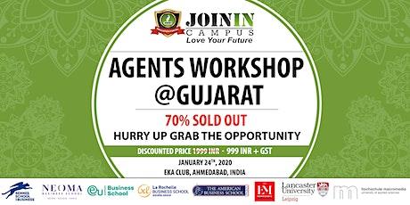 Agents Workshop @Gujarat: Study In France & Europe tickets