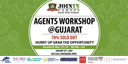 Agents Workshop @Gujarat: Study In France & Europe