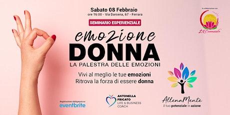 Emozione Donna - La palestra delle emozioni tickets