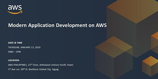 Modern Application Development on AWS - JANUARY 23, 2020