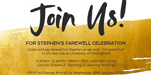 Stephen's Farewell Celebration