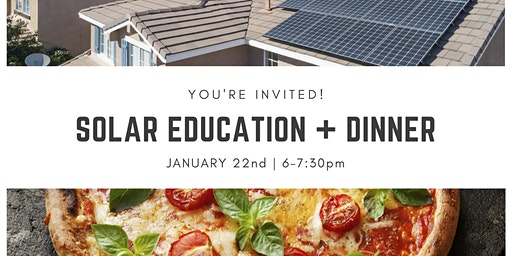 Solar Education Dinner @ Mary's Pizza Shack in Novato